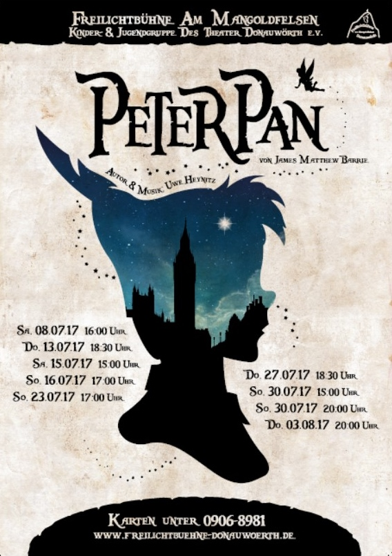 plakat peter pan